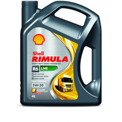 Масло моторное Shell Rimula R6 LME SAE 5W-30 (4л)