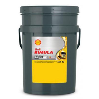 Масло моторное Shell Rimula R6 LME SAE 5W-30 (20л)