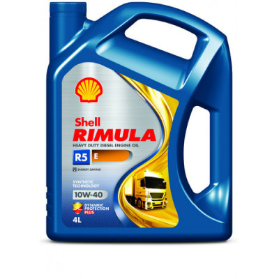 Масло моторное Shell Rimula R5 E SAE 10W-40 (4л)