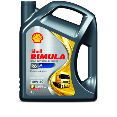 Масло моторное Shell Rimula R6 M SAE 10W-40 (4л)