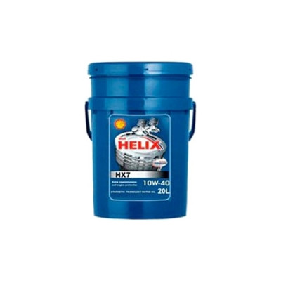 Масло моторное Shell Helix HX7 SAE 10W-40 (20л)