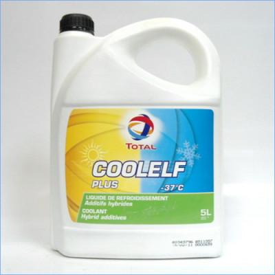 Антифриз Total COOLELF PLUS -37°C (5л)