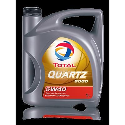 Масло моторное Total Quartz 9000 SAE 5W-40 (4л)