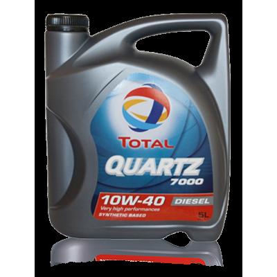 Масло моторное Total Quartz DIESEL 7000 SAE 10W-40 (5л)