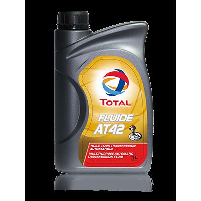 Трансмиссионное масло Total FLUIDE АТ 42 (1л)