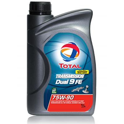 Трансмиссионное масло Total Transmission Dual 9 FE SAE 75W-90 (1л)