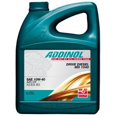 Масло моторное ADDINOL Drive Diesel MD 1040 SAE 10W-40 (5л)