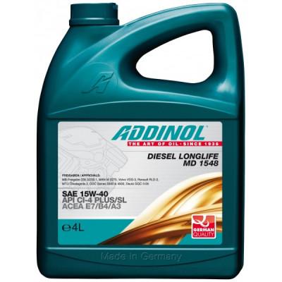 Масло моторное ADDINOL Diesel Longlife MD 1548 SAE 15W-40 (4л)