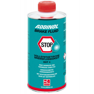 Тормозная жидкость ADDINOL Brake Fluid DOT 4 (500мл)