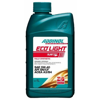 Масло моторное ADDINOL ECO Light SAE 5W-40 (1л)