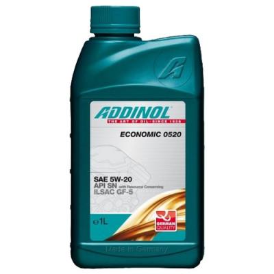 Масло моторное ADDINOL Economic 0520 SAE 5W-20 (1л)