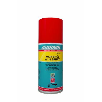 Масло оружейное ADDINOL Waffenol W 18 Spray (150мл)