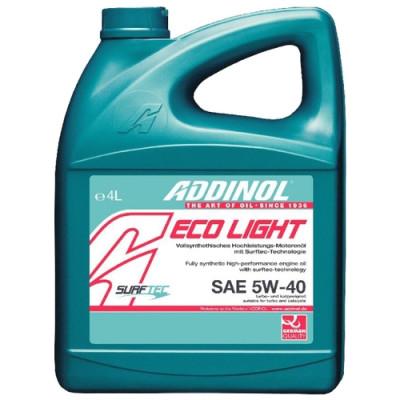Масло моторное ADDINOL ECO Light SAE 5W-40 (4л)