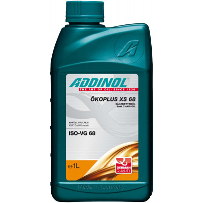 Масло для пильных цепей ADDINOL Okoplus XS 68 (1л)