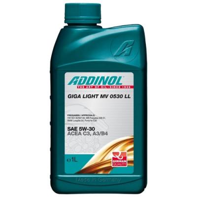 Масло моторное ADDINOL Giga Light MV 0530 LL SAE 5W-30 (1л)
