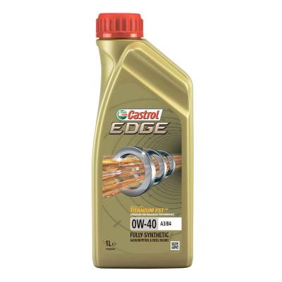 Масло моторное Castrol EDGE SAE 0W-40 A3/B4 (1л)