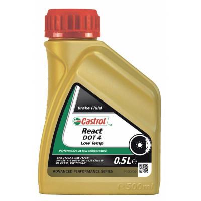 Жидкость тормозная Castrol React Low Temp Dot-4 (0,5л)