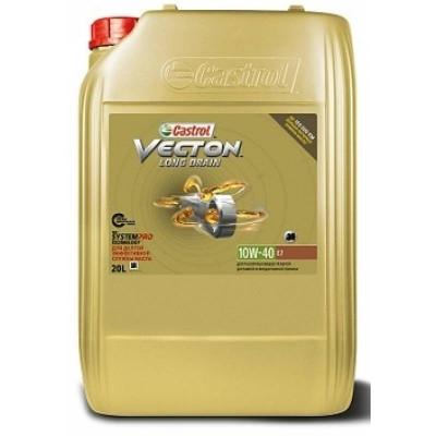 Масло моторное Castrol Vecton Long Drain SAE 10W-40 E7 (20л)
