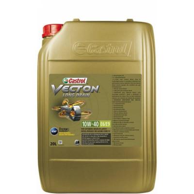 Масло моторное Castrol Vecton Long Drain SAE 10W-40 E6/E9 (20л)