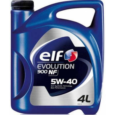 Масло моторное Elf EVOLUTION 900 NF SAE 5W-40 (4л)