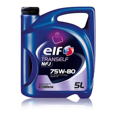 Трансмиссионное масло Elf TRANSELF NFJ SAE 75W-80 (5л)