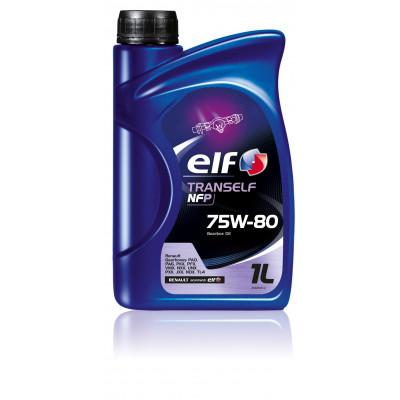Трансмиссионное масло Elf TRANSELF NFP SAE 75W-80 (1л)
