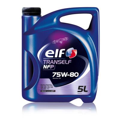 Трансмиссионное масло Elf TRANSELF NFP SAE 75W-80 (5л)