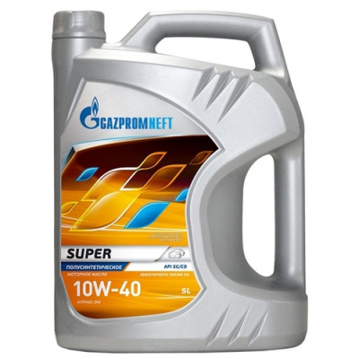 Масло моторное Gazpromneft Super SAE 10W-40 (5л)