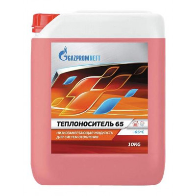 Антифриз Gazpromneft 40 красный (10кг)