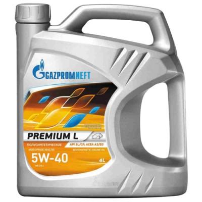 Масло моторное Gazpromneft Premium L SAE 5W-40 (4л)