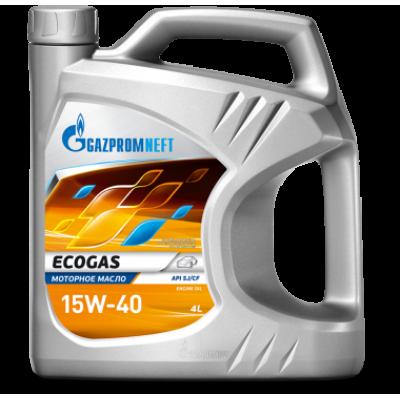 Масло моторное Gazpromneft Ecogas SAE 15W-40 (4л)