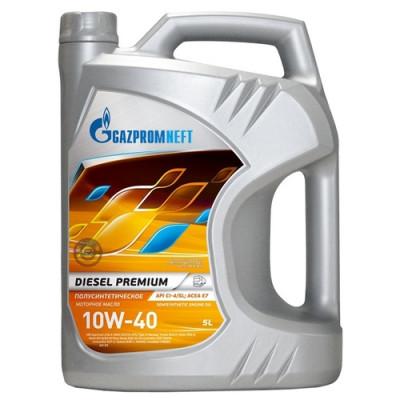Масло моторное Gazpromneft Diesel Premium SAE 10W-40 (5л)