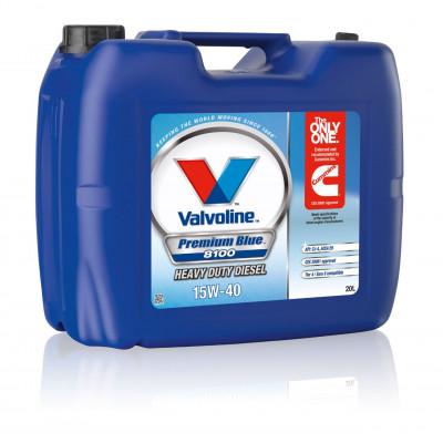 Масло моторное Valvoline Premium Blue 8100 SAE 15W-40 (20л)