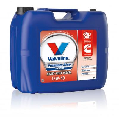 Масло моторное Valvoline Premium Blue 7800 SAE 15W-40 (20л)