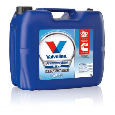 Масло моторное Valvoline Premium Blue 8100 SAE 10W-40 (20л)