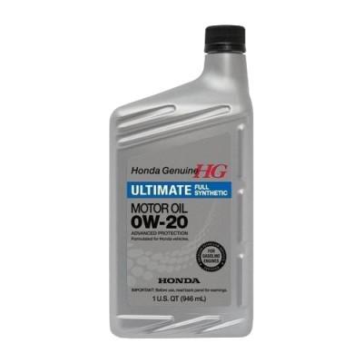 Масло моторное HONDA Full Synthetic SAE 0W-20 SN (946мл)