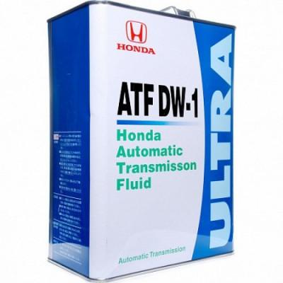 Масло трансмиссионное HONDA ATF DW-1 (4л)
