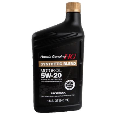 Масло моторное HONDA Synthetic Blend SAE 5W-20 SN (946мл)