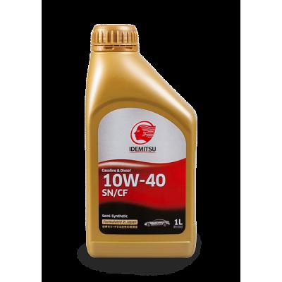 Масло моторное IDEMITSU SAE 10W-40 SN/CF (1л)