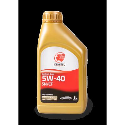 Масло моторное IDEMITSU SAE 5W-40 SN/CF (1л)