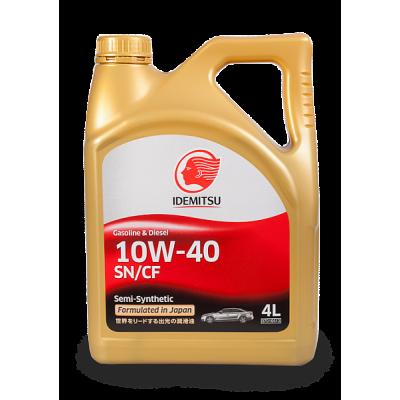 Масло моторное IDEMITSU SAE 10W-40 SN/CF (4л)