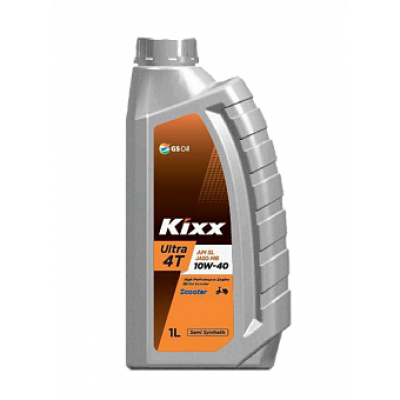 Масло моторное KIXX Ultra 4T Scooter SAE 10W-40 SN/MB (1л)