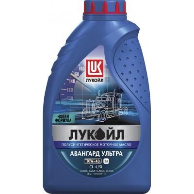 Масло моторное Лукойл Авангард ультра SAE 10W-40 CI-4/SL полусинтетическое (5л)