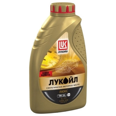 Масло моторное Лукойл люкс SAE 5W-30 SL/CF синтетическое (1л)