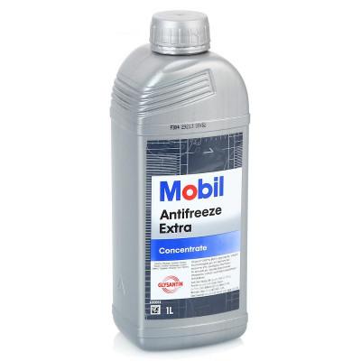 Антифриз Mobil Extra сине-зеленый (1л)