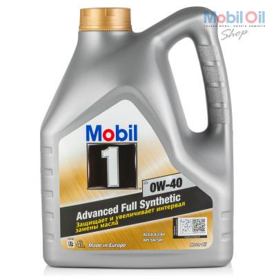 Масло моторное Mobil 1 FS SAE 0W-40 (4л)