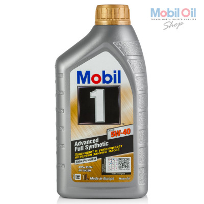 Масло моторное Mobil 1 FS X1 SAE 5W-40 (1л)
