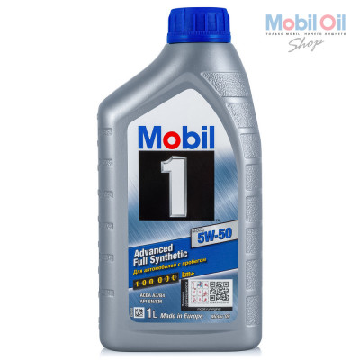 Масло моторное Mobil 1 FS X1 SAE 5W-50 (1л)