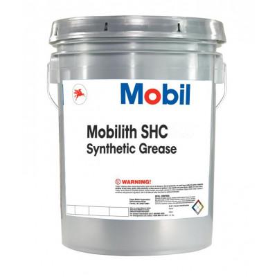 Смазка пластичная Mobilith SHC 007 красная (16кг)