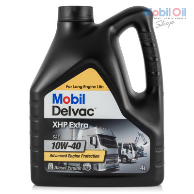 Масло моторное Mobil DELVAC XHP EXTRA SAE 10W-40 (4л)